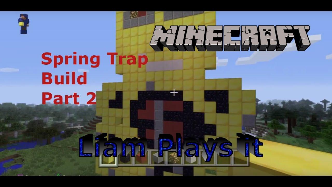 Minecraft Springtrap Fnaf Build Part 2
