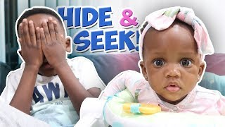 Hide And Seek With My Baby Sister