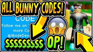 """ALLE NEUEN BUNNY SIMULATOR RELEASE CODES 2019!!"" Bunny Simulator [NEU] Update (Roblox)"
