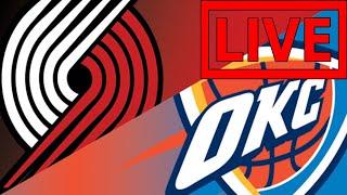 NBA LIVE STREAM: Portland Trailblazers Vs Oklahoma City Thunder Live Reactions & Play By Play Game 3