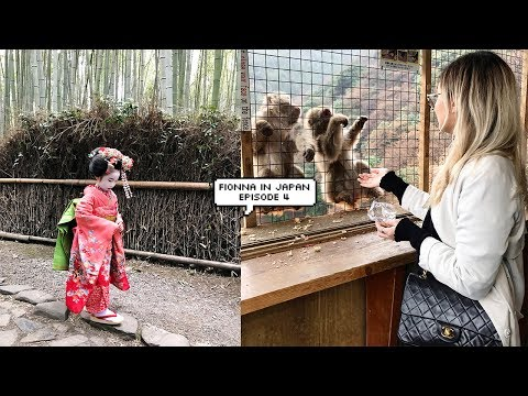 FIONNA IN JAPAN / EPISODE 4 - TWO DAYS IN KYOTO (JAPAN VLOG) 🇯🇵