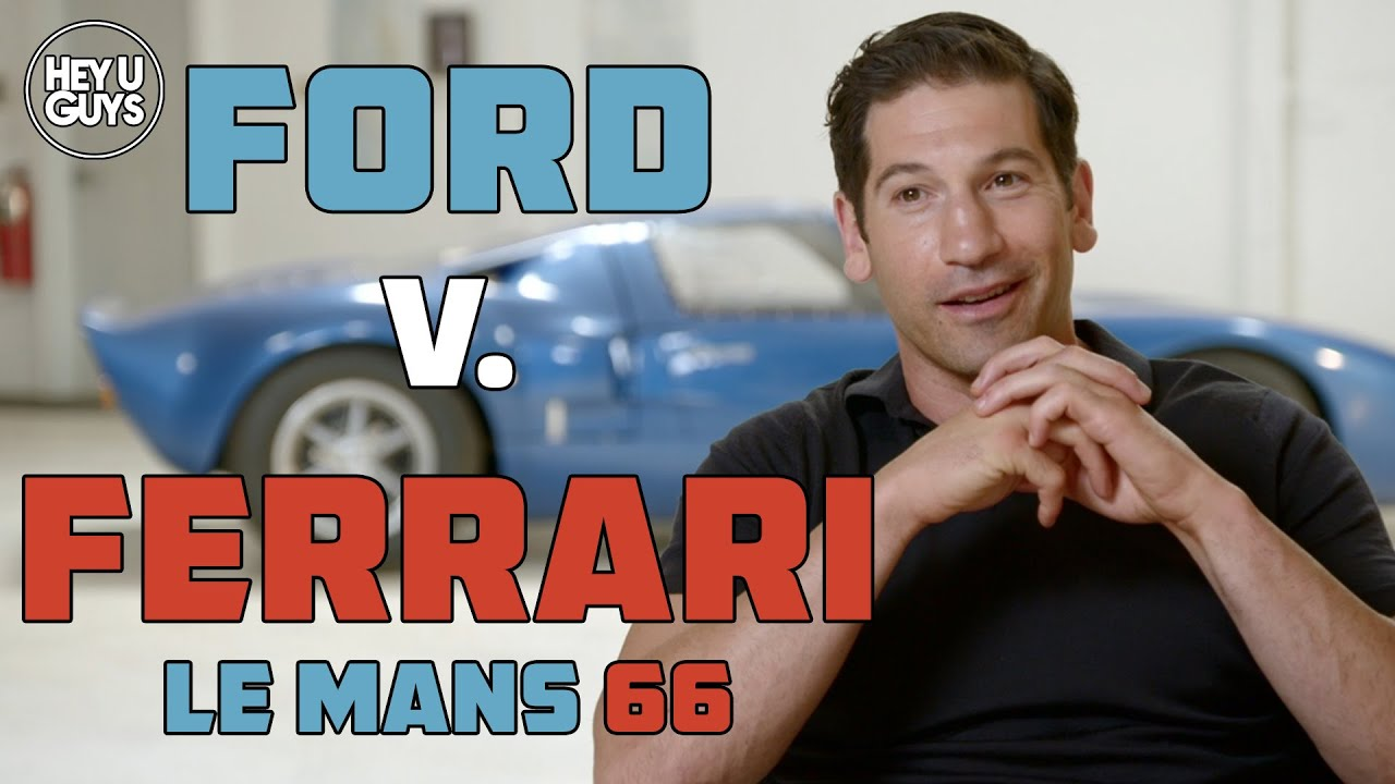 Jon Bernthal Interview Ford V Ferrari Le Mans 66 Youtube