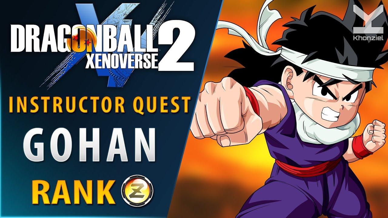 Dragon Ball Xenoverse 2 - Mentor / Master Training with