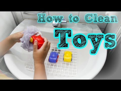 How to Clean Your Plastic Toys