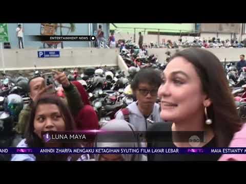 Tanggapan Luna Maya Seputar Berita Kedekatan Syahrini Dengan Reino Barack