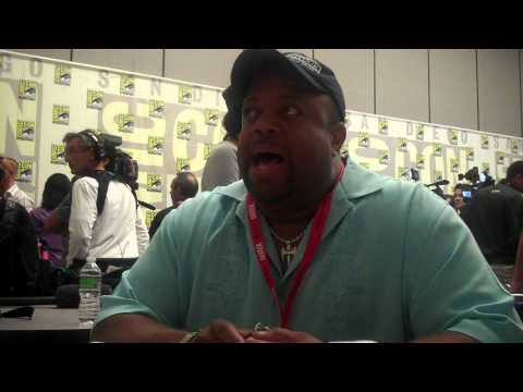 SDCC 2010 - Chuck - Mark Christopher Lawrence (Big Mike) Interview