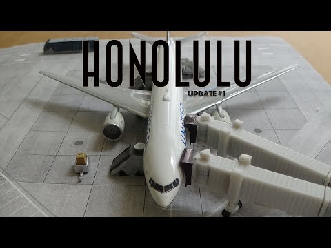 [Homemade] 1/400 Daniel K. Inouye Honolulu International Airport | Update #1