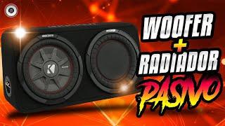 Nuevo Subwoofer + Radiador pasivo de Kicker | AudioOnline