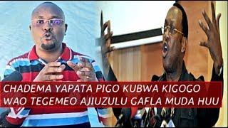 CHADEMA Yapata Pigo Jingine Baya na kubwa Kuliko Kigogo wao Tegemeo Ajiuzulu Ghafla Muda huu