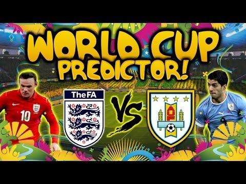 ENGLAND VS URUGUAY - ME VS FANGS - WORLD CUP PREDICTOR!