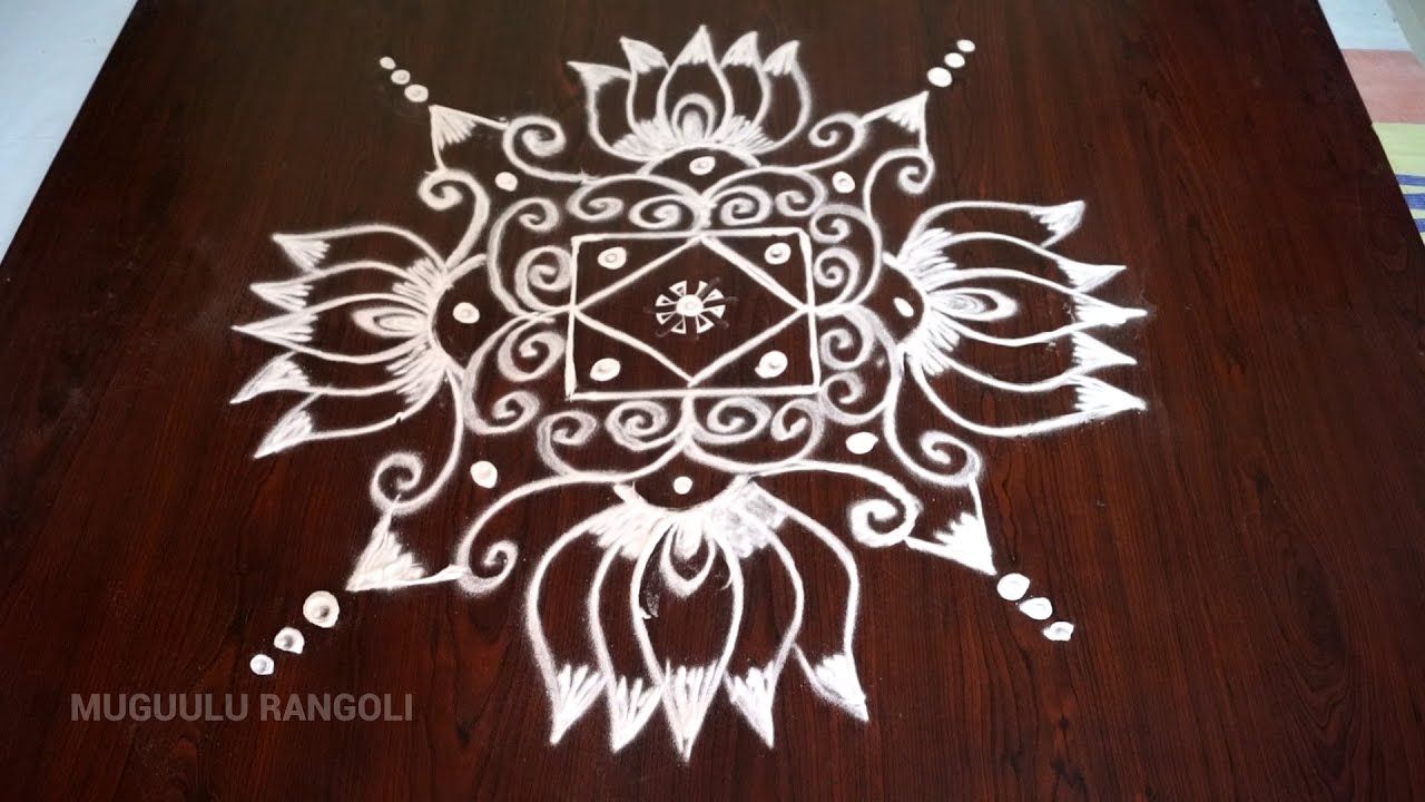 lotus kolam designs rangoli designs of lotus rangoli lotus designs lotus rangoli designs