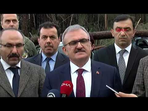 Antalya Valisi Münir Karaloğlu açıklama yaptı