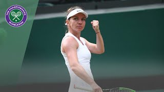 Simon Halep vs Victoria Azarenka Wimbledon 2019 third round highlights