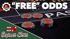 Free Odds Bet - How to Play Craps Pt. 8