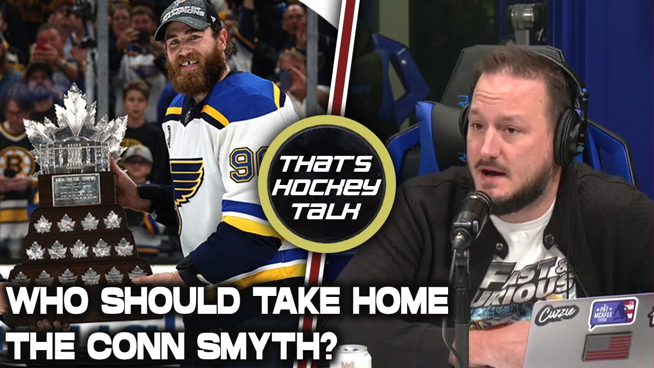 That's Hockey Talk's Thoughts On Who Should Win The Conn Smyth? (NHL Playoffs MVP)
