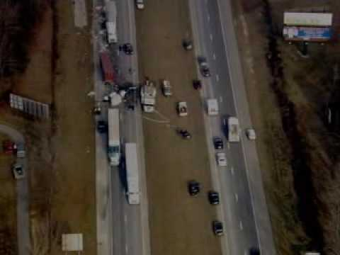 Raw Video: Fatal Wreck On I-65