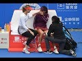 Maria Sharapova vs. Wang Xinyu | 2019 Shenzhen Open Second Round | WTA Highligh…