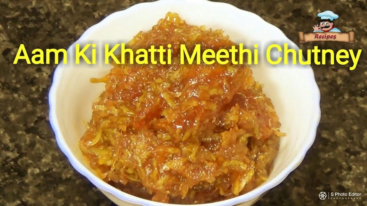 how to make meethi chutney without imli