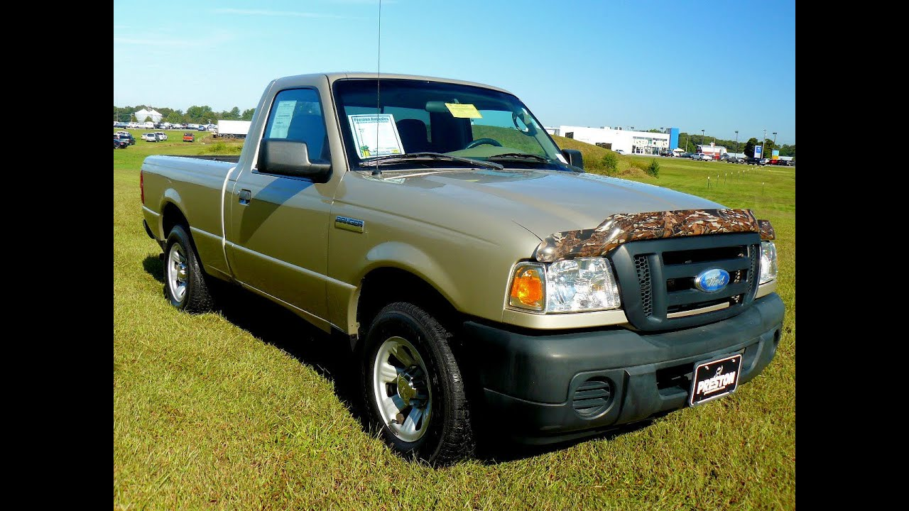 cheap trucks for sale 2008 ford ranger xl f401869a youtube. Black Bedroom Furniture Sets. Home Design Ideas