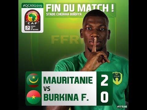Mauritania 2-0 Burkina Faso