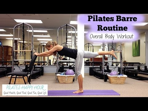 Pilates and Barre Workout 10 Minute Total Body Barre Workout!