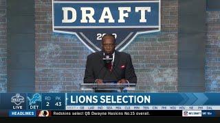 The Detroit Lions Draft Jahlani Tavai