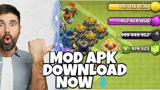 Mod Apk TH12 Update Of Clash Of Clans | Download Apk In Just Few Simple Steps