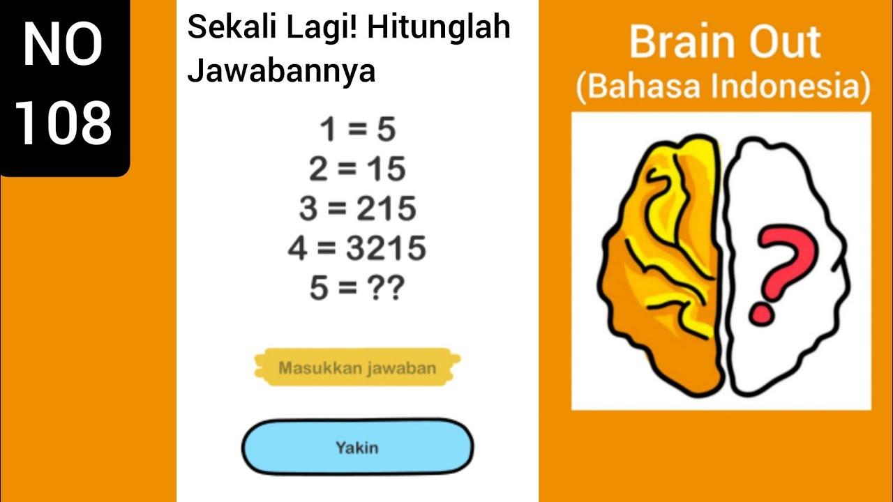 Brain Out Level 108 Sekali Lagi Hitunglah Jawabannya