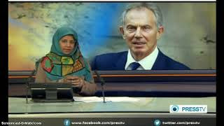 TONY BLAIR WAR CRIMINAL To Face War Crime Charges in Chilcot Report  Max Igan   PressTV
