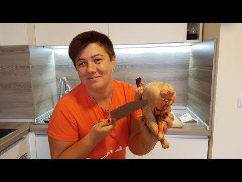 Вопрос: Как разделать тушу курицы?