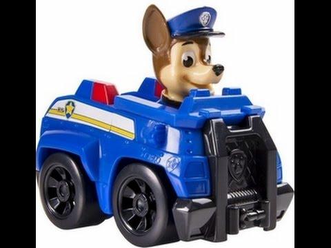 paw patrol pat patrouille chase et son camion de police figurines jouets pour les enfants youtube. Black Bedroom Furniture Sets. Home Design Ideas