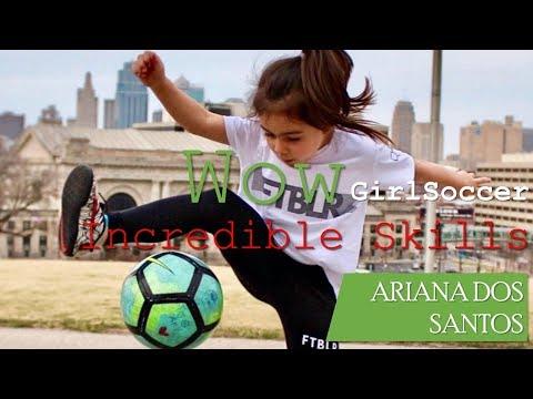 Incredible Skills Ariana Dos Santos 5 Years old
