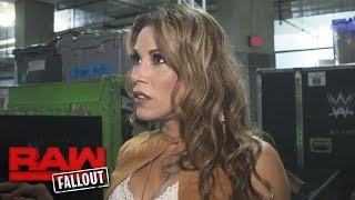 "Mickie James on why Alexa Bliss' attitude is ""getting old"": Raw Fallout, Oct. 9, 2017"