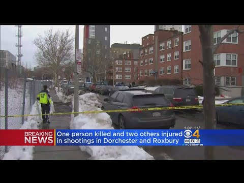 Three People Shot, 1 Dead In Roxbury And Dorchester Shootings
