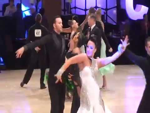 Brittany Falconer and Peter Walker at 2015 USDC (United States Dance Championships)