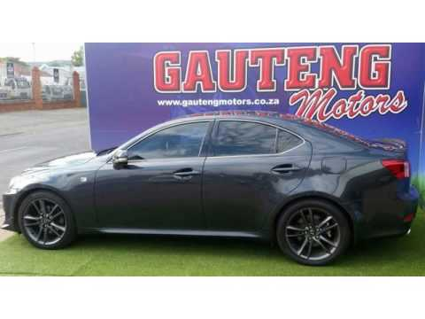 2011 LEXUS IS250 F SPORT Auto For Sale On Auto Trader South Africa