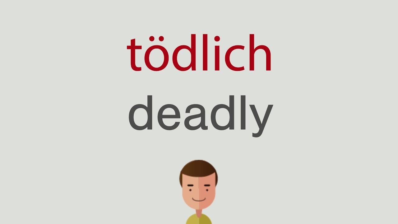 Tödlich Englisch