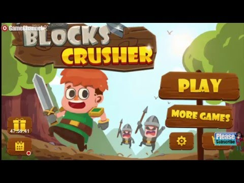 Blocks Crusher Arcade Android İos Free Game GAMEPLAY VİDEO