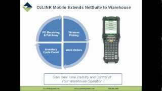OzLINK for NetSuite - Mobile - How to Optimize Your Warehouse - Webinar