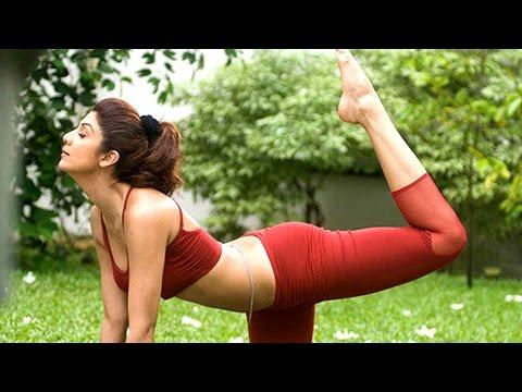 WATCH! Shilpa Shetty YOGA Workout Video