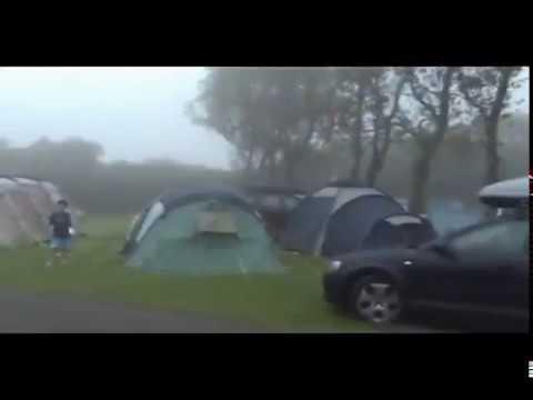 Aug 31, 2009 - Caravan Camping, Dorset England UK