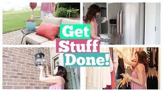Speed Cleaning My House & Getting Stuff Done | Cleaning Motivation