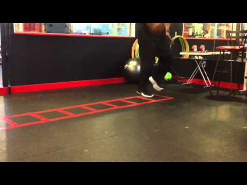 Donovin Darius Ladder Drills #2