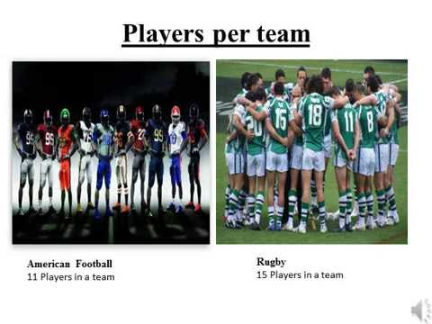 why american football is better than rugby