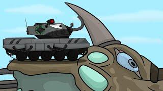 Созданный монстр КЛИП Мультики про танки