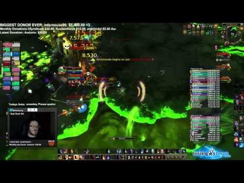 6.2 PTR: Hellfire Citadel HC Archimonde - Fire Mage PoV