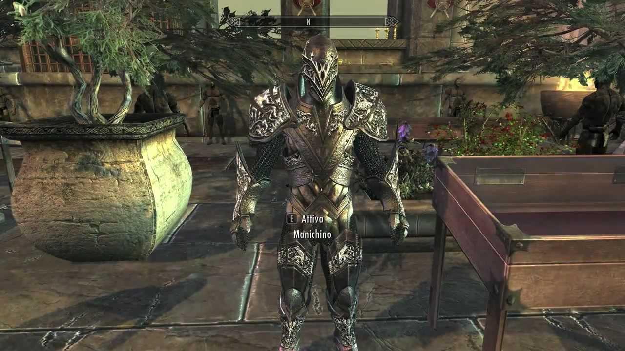 Скачать мод для скайрим dragon knight armor