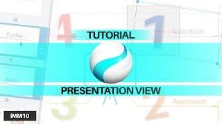 Tutorial: Presentation View - iMindMap 10