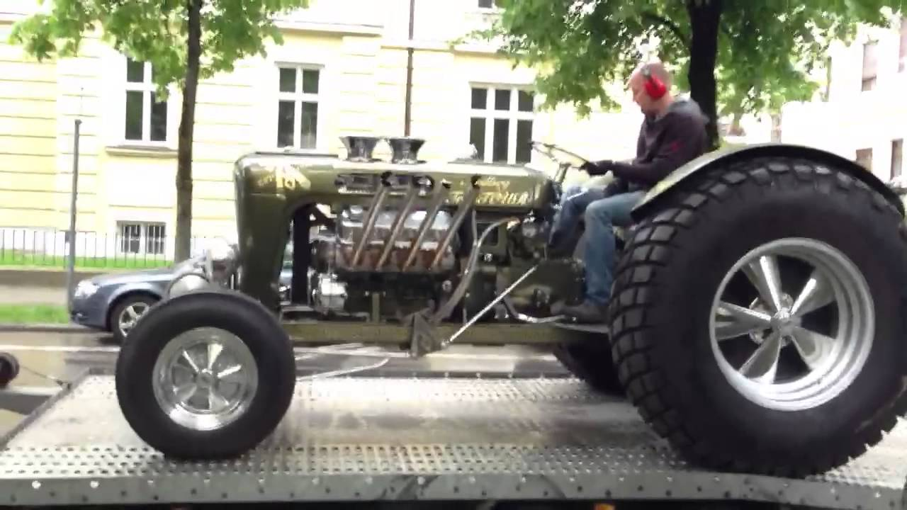 ardbeg hot rod tractour hits munich youtube. Black Bedroom Furniture Sets. Home Design Ideas