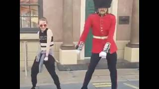 Royal Security Guard Can Dance